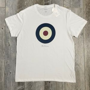 Ben Sherman white t-shirt: New with tags